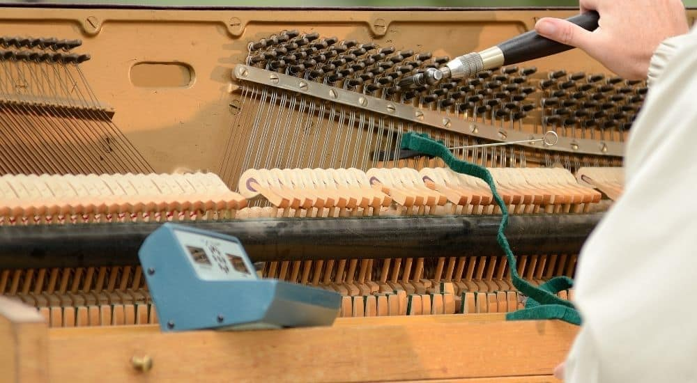 Tuning A Piano - Are Keyboards As Good As Piano